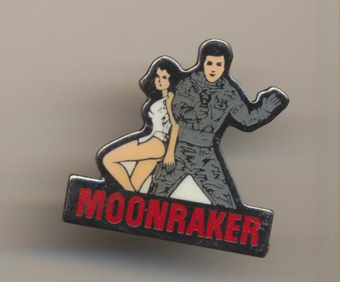Pin Esmaltado de la película Moonraker. James Bond 007