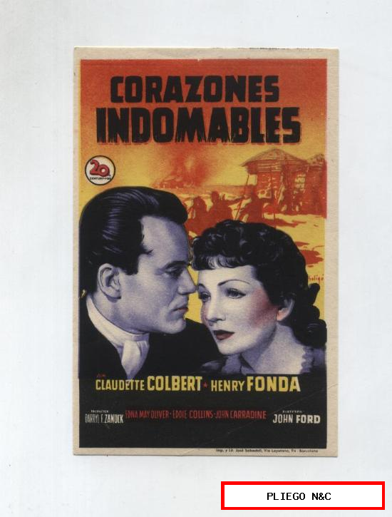 Corazones Indomables. Soligó. Sencillo de 20Th Century Fox